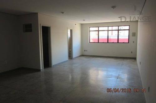 Sala Para Alugar, 50 M² Por R$ 1.300,00/mês - Centro - Campinas/sp - Sa1352