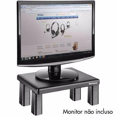 Suporte Base Altura P/ Monitor Televisão 4 Níveis Ajuste