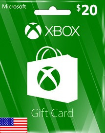 Gift Card Xbox Live $20