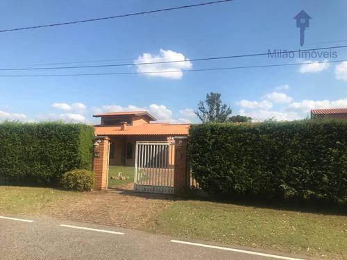 Chácara 15 Dormitórios À Venda, 4800 M², Chácaras Residenciais Santa Maria Em Sorocaba/sp - Ch0012