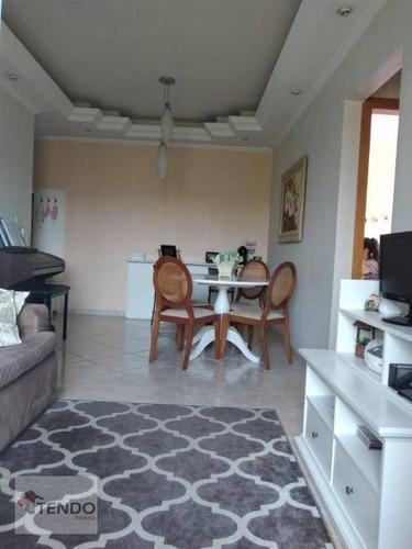 Apartamento 75 M² - Venda - 2 Dormitórios - 1 Suíte - Santa Claudina - Vinhedo/sp - Ap2416