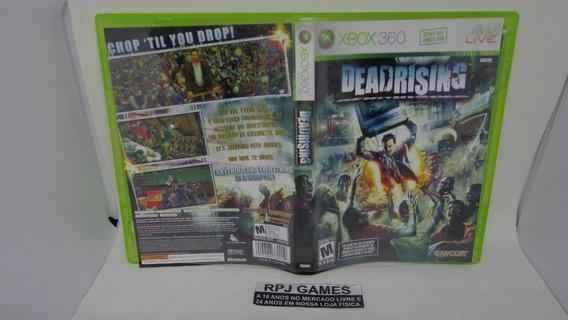 Dead Rising Original Midia Fisica Completa P/ Xbox 360 Loja