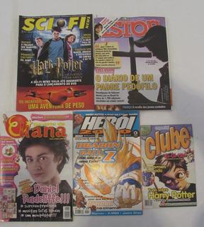 Coleção Harry Potter - Revistas, Poster, Recortes