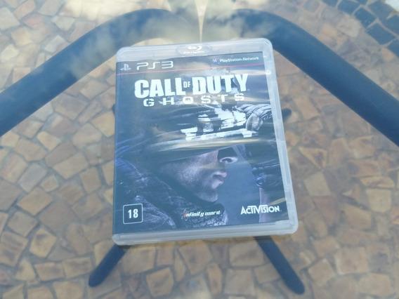 Jogo Call Of Duty Ghosts Ps3 Mídia Física Original