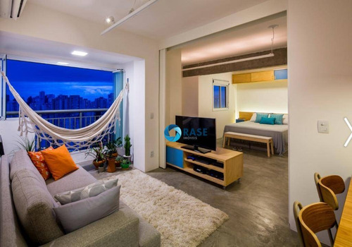 Imagem 1 de 11 de Apartamento Com 1 Dormitório À Venda, 47 M² Por R$ 299.990,00 - Morumbi - São Paulo/sp - Ap10327