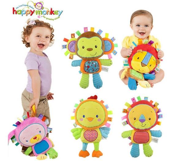 Chocalho Bichinho De Pelúcia Brinquedo Educativo Para Bebe