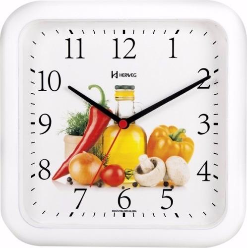 Relógio De Parede Cozinha Decorativo 660001 - Mega Promoção