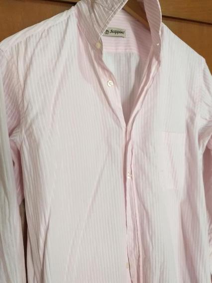 Camisa Scappino Premium Original Algodon Egipcio