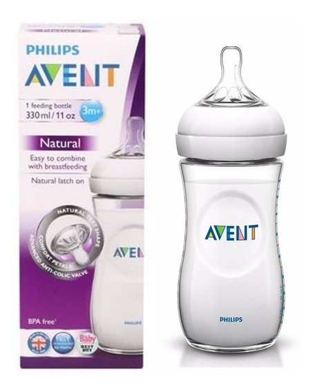 Avent Philips Mamadera Natural 330ml Farmaservis