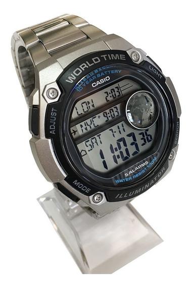 Relógio Masculino Casio Digital Ae3000w Grande Original Nf