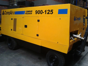 Compresor Portatil Usado 900 Cfm Compair Motor Caterpillar