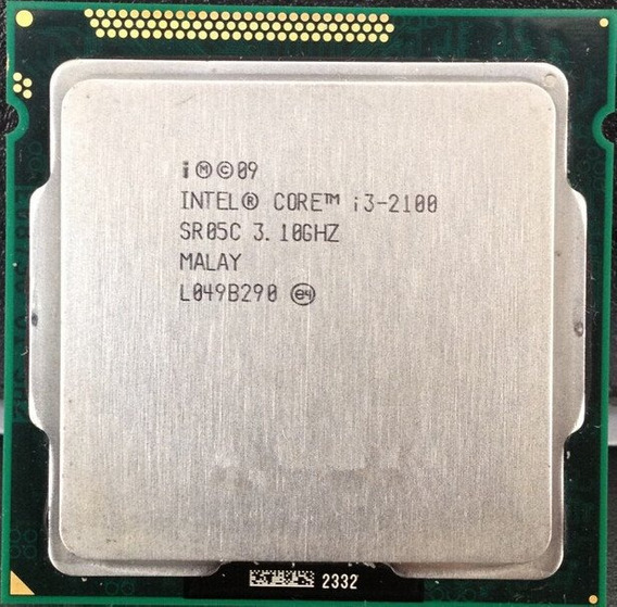 Intel Core I3 2100 Usado Sem Cooler
