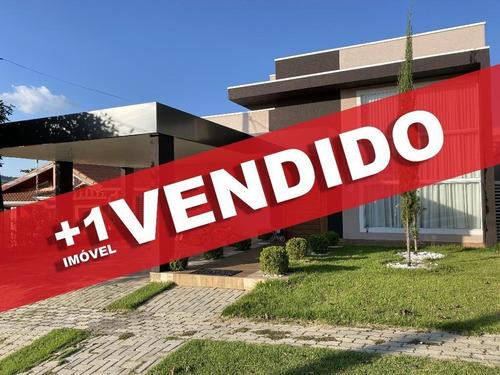 Casa Com 3 Dormitórios À Venda, 170 M² Por R$ 650.000,00 - Condomínio Terras De Atibaia I - Atibaia/sp - Ca0086