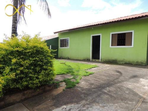 Casa Com 2 Dormitórios À Venda, 80 M² Por R$ 380.000,00 - São Luiz - Paulínia/sp - Ca1878