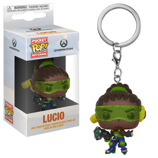Funko Pop Keychain Overwatch Lucio Nortoys