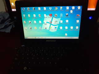Netbook Banghó. Windows 7, Todos Los Accesorios.