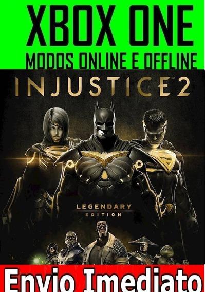 Injustice 2 Edição Lendária Xbox One Mídia Digital Offline