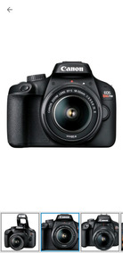 Câmera Digital Canon Dslr Semiprofissional 18mp T100 Wifi