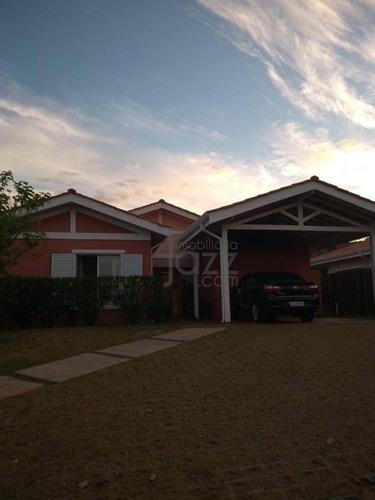 Imagem 1 de 30 de Casa Residencial À Venda, Condomínio Casas De Gaia, Campinas. - Ca3870