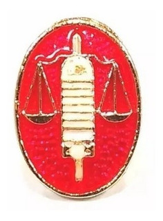 1 Pin Botton Broche Profissão Advogado