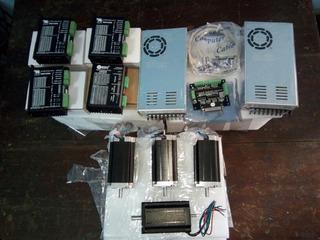 Cnc Kit 4 Ejes Alto Torque Para Router Plasma Láser