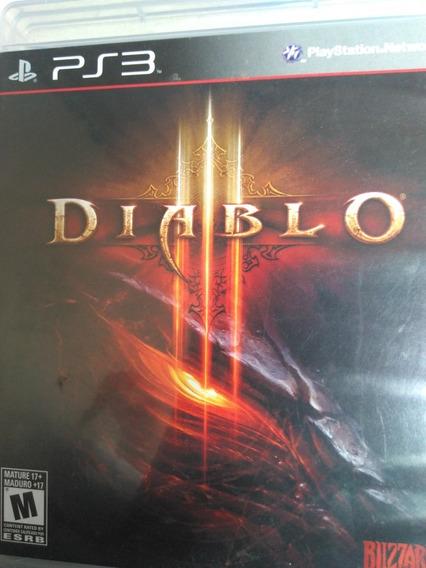 Diablo 3 Ps3 Midia Fisica , A Pronta Entrega