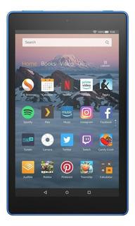 "Tablet Amazon Fire HD 8 2018 KFKAWI 8"" 16GB marine blue con memoria RAM 1.5GB"
