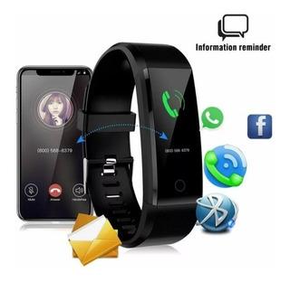 Smartwatch Id115 Pulseira Inteligente Mais Pulseira Gratis