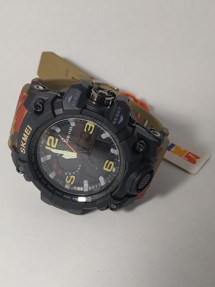 Reloj Skmei Acuatico Sumergible 50mt Alarma Led Tipo Gshock