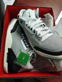 Air Jordan 3 Chlorophyll 27.5 Mx Nuevos (a Tratar)