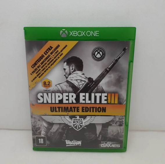 Sniper Elite 3 Ultimate Edition Xbox One Mídia Física