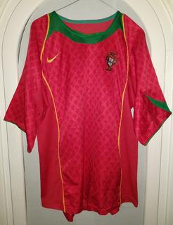 Jersey Seleccion De Portugal Nike Año 2004 Talla L Grande