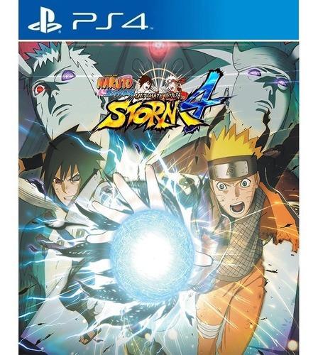 Naruto Shippuden U. Ninja Storm 4 Ps4 Envio Digital Original