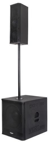 Caixa Line Array Vert3000 750 Watts Nca Bluetooth Usb Dj Sub