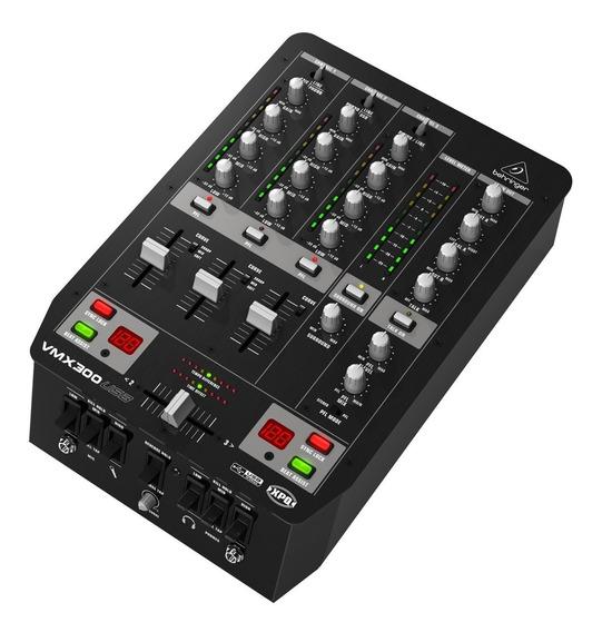 Mixer Dj Behringer Pro Mixer Vmx300 Usb 3 Canais - Com Nf