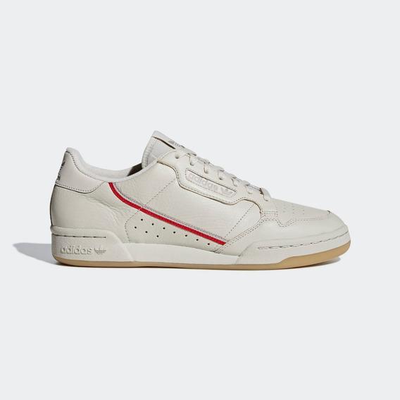 Tenis adidas Continental 80 Marron Claro Couro