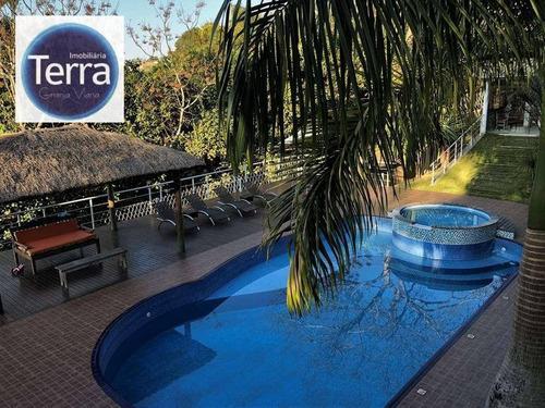 Casa  Residencial À Venda, Fazendinha, Granja Viana. - Ca0365