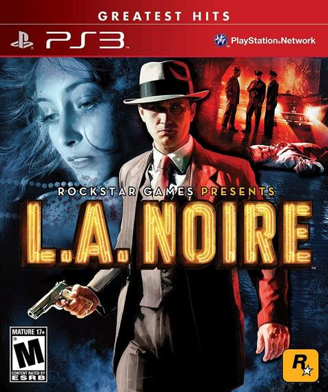 Jogo L.a. Noire (novo) Ps3