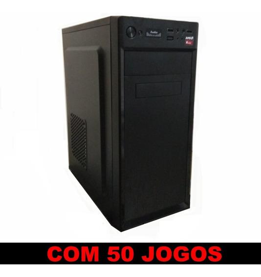 Cpu Gamer Nova + 50 Jogos 3.8 Ghz Cs Go Lol Eurotruck Pes