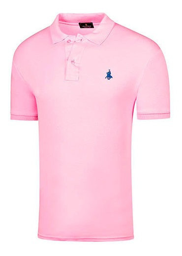 Playera Hombre Pk 82338 Polo Club Rosa