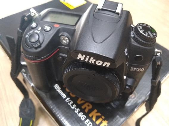Nikon D7000 Com Apenas 14k Clicks Na Caixa Original