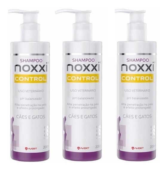 Noxxi Control 200ml - Kit 3 Unidades - Val Set/19