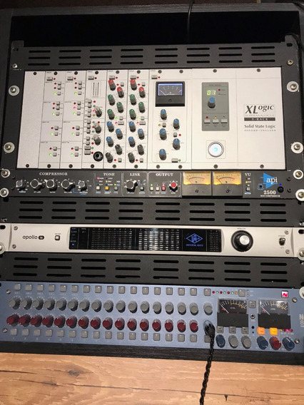 Summing Mixer, Bus Compressor, Equalizador Ssl X-rack N Api