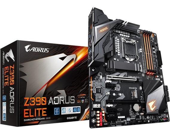 Placa Mãe Gigabyte Z390 Aorus Elite Intel 1151 Ddr4 Atx