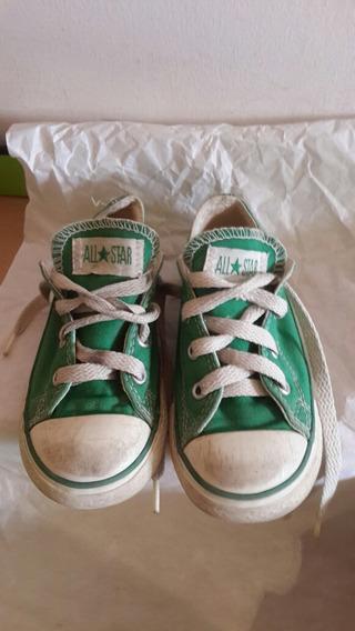 Zapatos De Niño Converse Usado