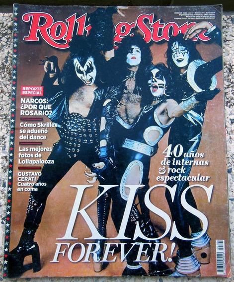 Revista Rolling Stone Argentina Nº 194 - Kiss - Maio 2014