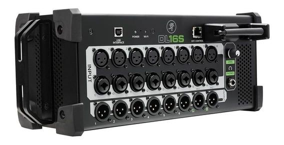 Mixer Digital Mackie Dl16s Zerado Usado 2x + Bag Sob Medida