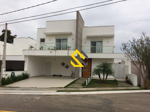 Casa Com 3 Dormitórios À Venda, 300 M² Por R$ 1.050.000 - Condomínio Belvedere I - Votorantim/sp - Ca1586