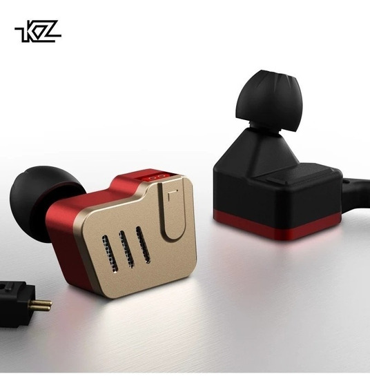 Audifonos Kz Ba10 In Ear Monitores + Cable Con Micrófono