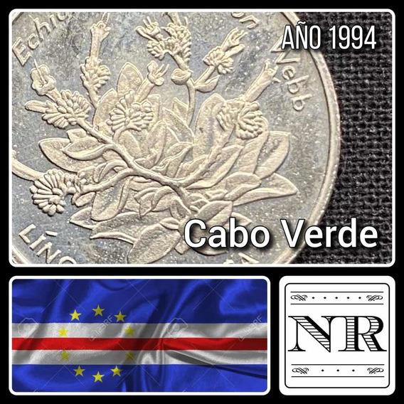 Cabo Verde - 10 Escudos - Año 1994 - Km # 32 - Flora
